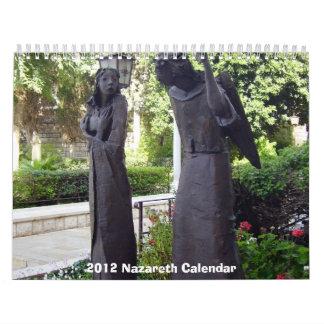Calendario 2012 de Nazaret