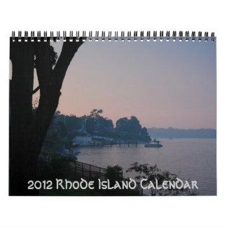 Calendario 2012 de Rhode Island