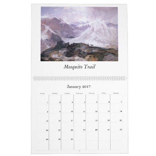 Calendario 2012 de Thomas Moran