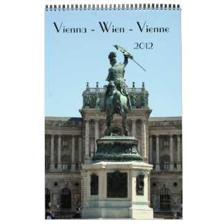 calendario 2012 de Viena