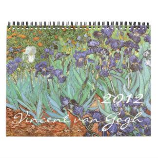 Calendario 2012 de Vincent van Gogh