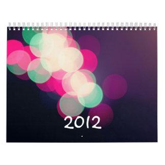 Calendario 2012 del amante de naturaleza