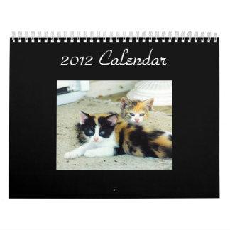 Calendario 2012 del año de Purrfect