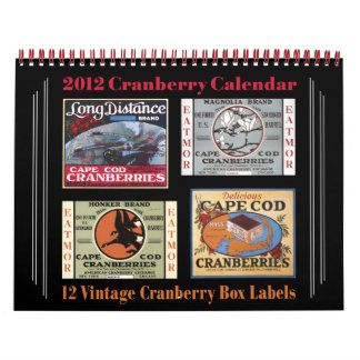 Calendario 2012 del arándano
