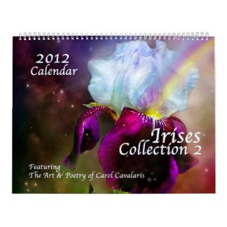 Calendario 2012 del arte de la colección 2 del