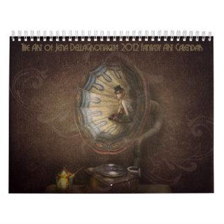 Calendario 2012 del arte de la fantasía