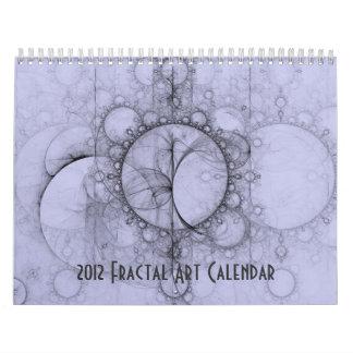 Calendario 2012 del arte del fractal