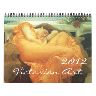 Calendario 2012 del arte del Victorian