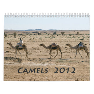 Calendario 2012 del camello