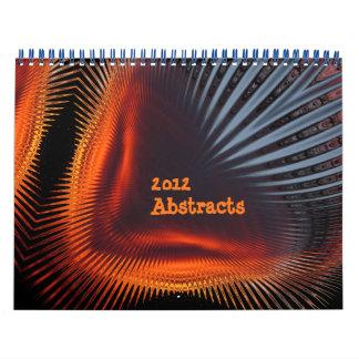 Calendario 2012 del ~ de los extractos