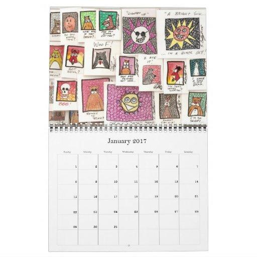 Calendario 2012 del dibujo animado de Conroy