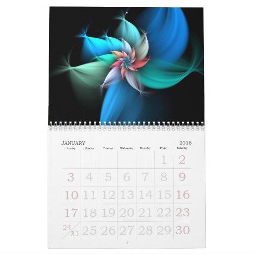 Calendario 2012 del fractal
