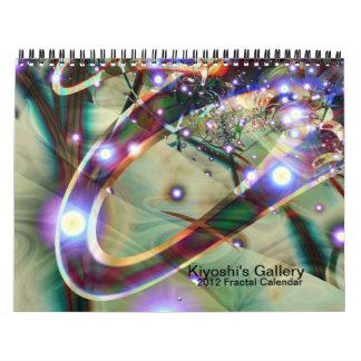 Calendario 2012 del fractal de la galería de Kiyos