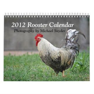 Calendario 2012 del gallo