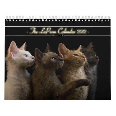 Calendario 2012 del gato