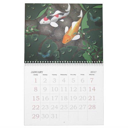 calendario 2012 del koi