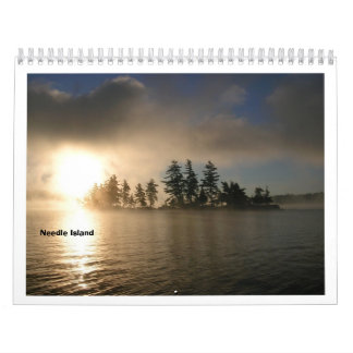 Calendario 2012 del lago Raquette