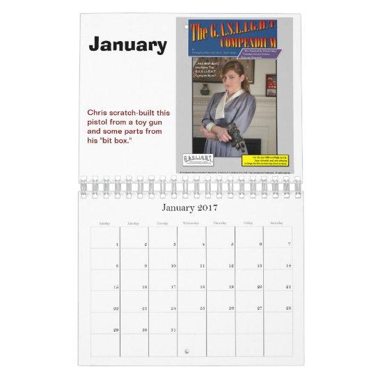 Calendario 2012 del MECHERO DE GAS