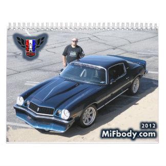 calendario 2012 del miembro de MiFbody.com
