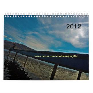 Calendario 2012 del Naturaleza-Paisaje