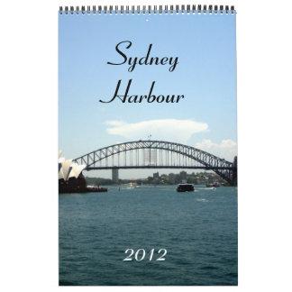 calendario 2012 del puerto de Sydney