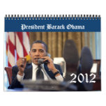 Calendario 2012 del recuerdo de presidente Barack