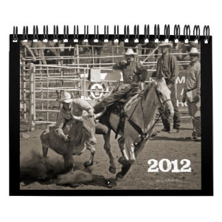 Calendario 2012 del rodeo