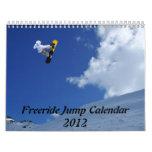 Calendario 2012 del salto de Freeride