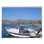 Calendario 2012 del tema de Turquía