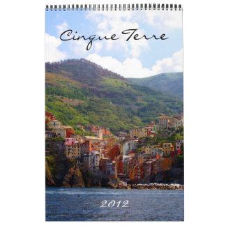 calendario 2012 del terre del cinque