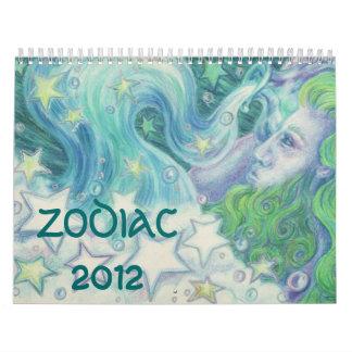 Calendario 2012 del zodiaco