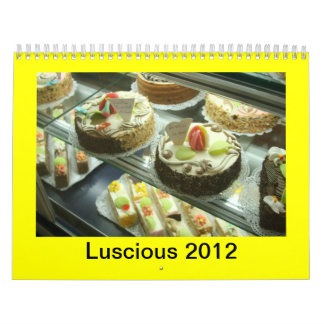 Calendario, 2012 DELICIOSO