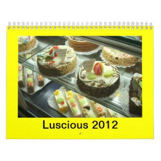 Calendario, 2012 DELICIOSO Calendario