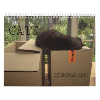 Calendario 2012 - Gatos