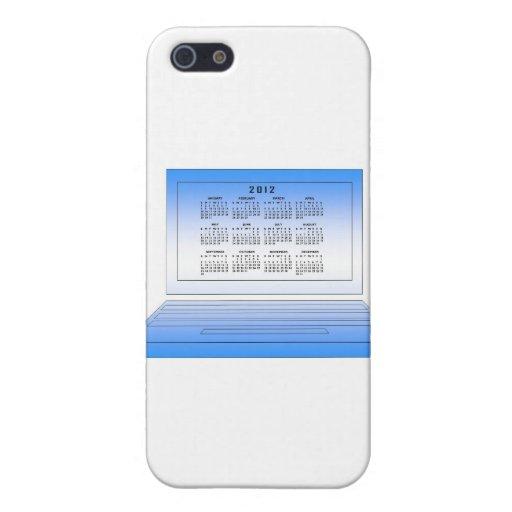 Calendario 2012 iPhone 5 fundas