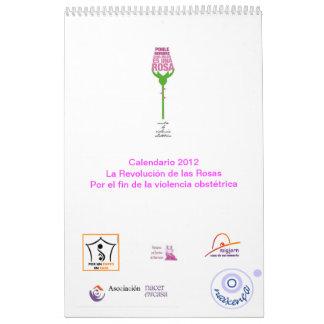 Calendario 2012 La Revolución de las Rosas