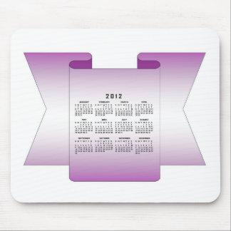 Calendario 2012 mousepad