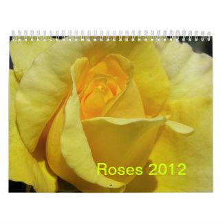 CALENDARIO - 2012 ROSAS