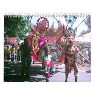 Calendario 2012, Sun, mar, arena, música y baile
