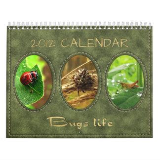 Calendario 2012: Vida de los insectos