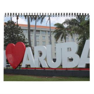 Calendario 2013 de Aruba