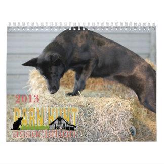 Calendario 2013 de Assoc de la caza del granero