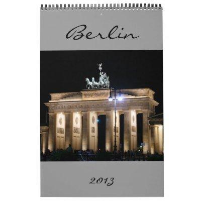 calendario 2013 de Berlín