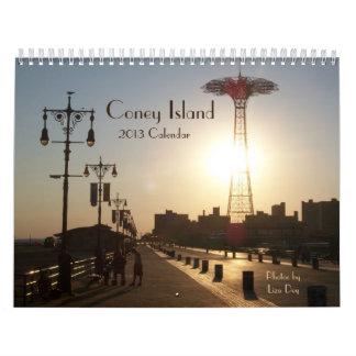 Calendario 2013 de Coney Island
