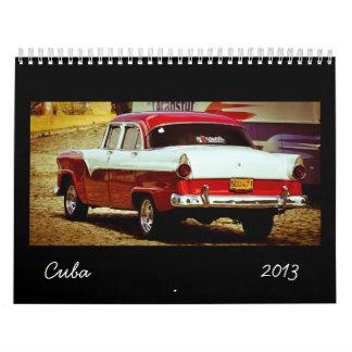 Calendario 2013 de Cuba