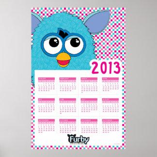 Calendario 2013 de Furby Impresiones