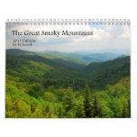 Calendario 2013 de Great Smoky Mountains