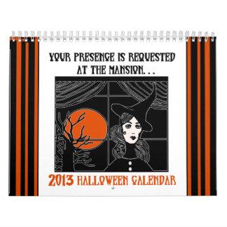 Calendario 2013 de Halloween