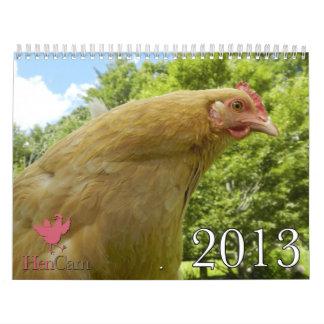 Calendario 2013 de HenCam