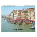 Calendario 2013 de Italia